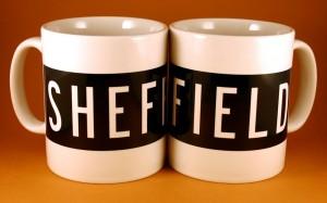 Sheffield bus blind mug
