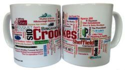 Crookes mugs - our first mugs